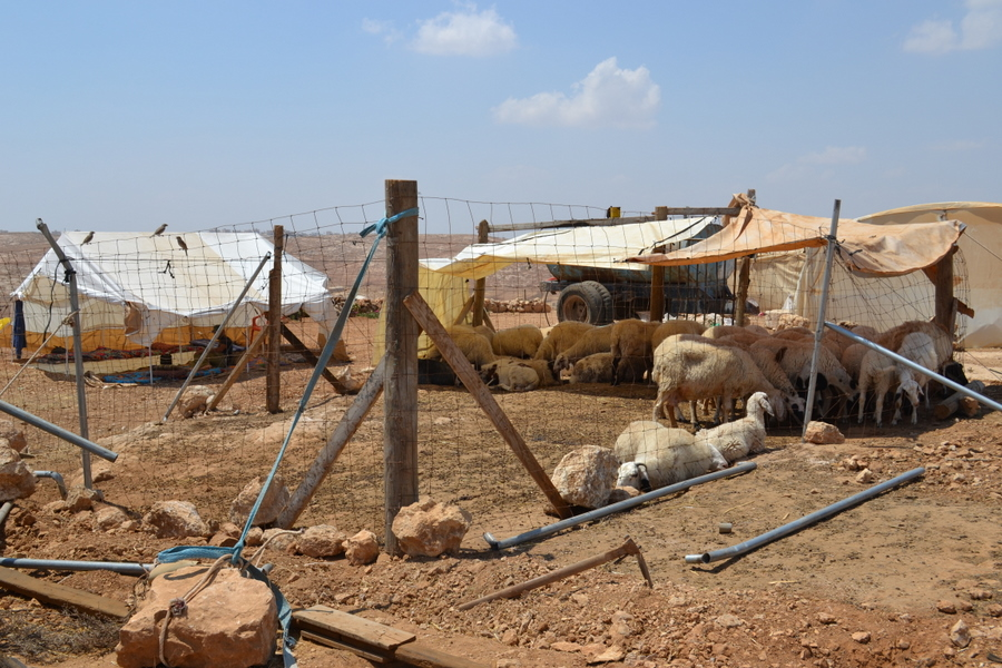 Palestinian village of Susya, South Hebron Hills
