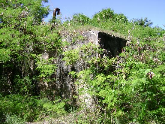 Nuke test bunker