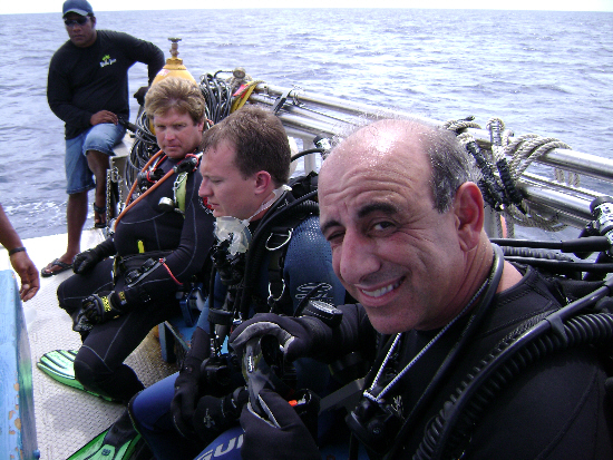 Divers can\'t wait to dive