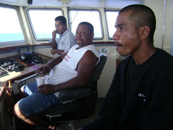 Captain & crew