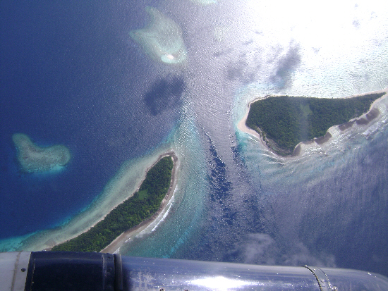 Marshall Islands from the air