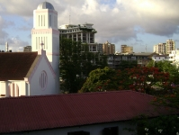 View from Dar YMCA