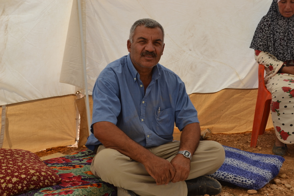 Palestinian resident of Susya, South Hebron Hills.