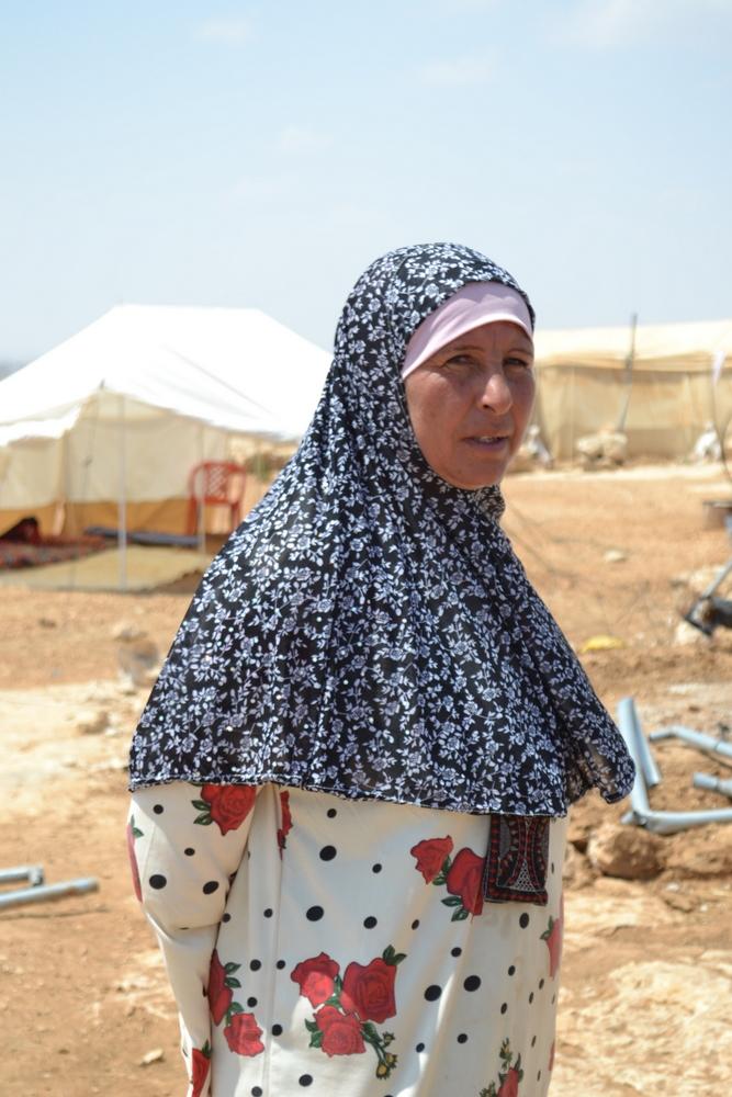 Palestinian resident of Susya, South Hebron Hills.