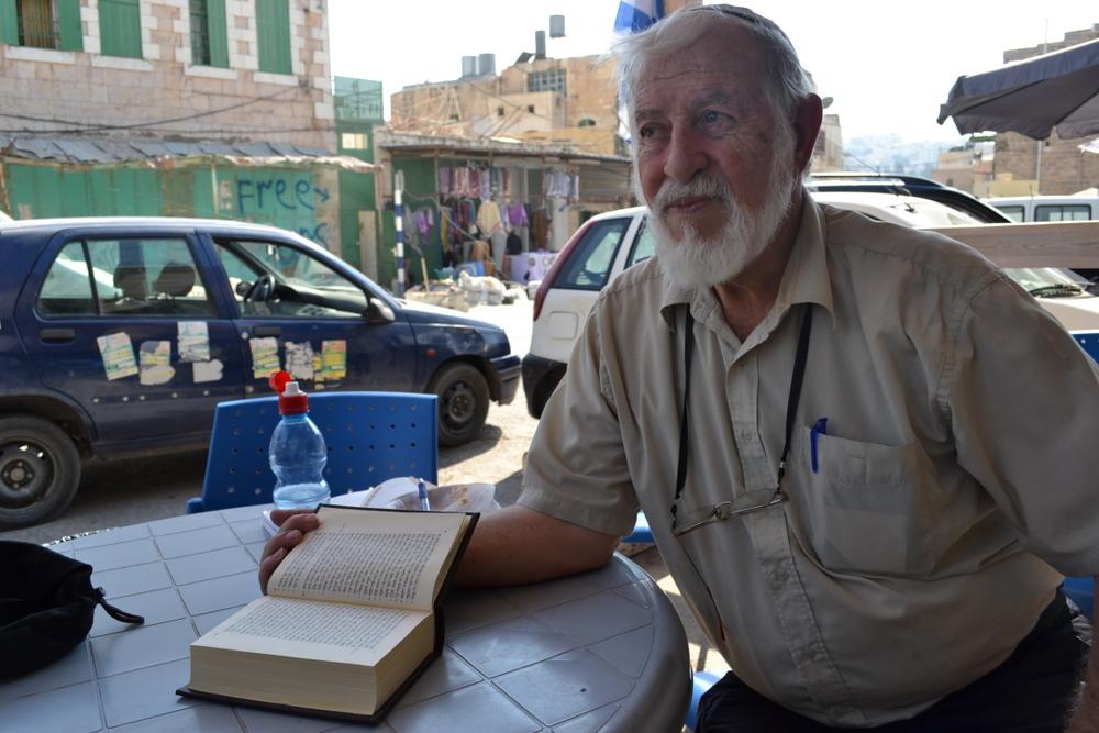 Jakob Ferrara, Jewish settler, Kiryat Arba, Hebron